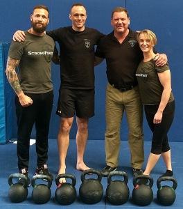 Dan John, Jason Elliot, Phil McDougall & Claire Booth: The SFG2 Coaching Team.