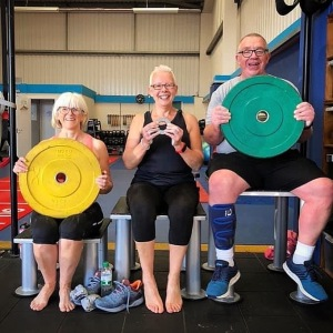 Trio with weights